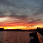 Craneway sunset